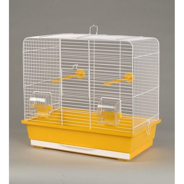 Inter-Zoo Bird Cage Luna White - 450 x 280 x 425mm