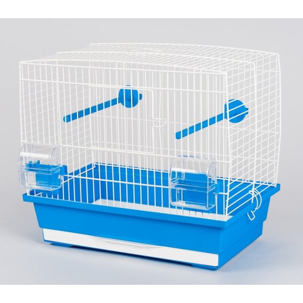 Inter-zoo Bird Cage Natalia I White - 400 x 250 x 350mm