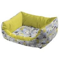 Ferplast Coccolo 60 Soft Dog And Cat Bed Sofa - Yellow