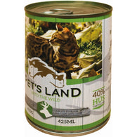 Pet's Land Cat Wild Game With Carrots - 415g