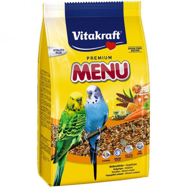 Vitakraft Premium Menu For Budgies - 1kg
