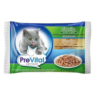 Prevital Pouch Pack Sterilised Poultry & Liver - 4x100gr