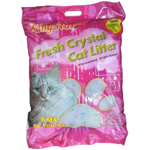 KingStar Fresh Crystal Cat Litter - 16l