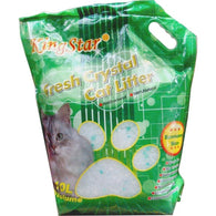 KingStar Fresh Crystal Cat Litter With  Green Apple - 10l