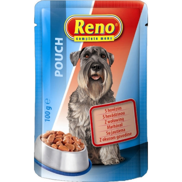 Reno Dog Pouch Beef - 100 g