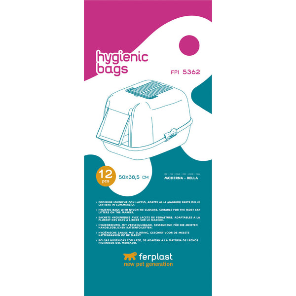 Ferplast Hygienic bags FPI 5362 For Cat Litter Tray