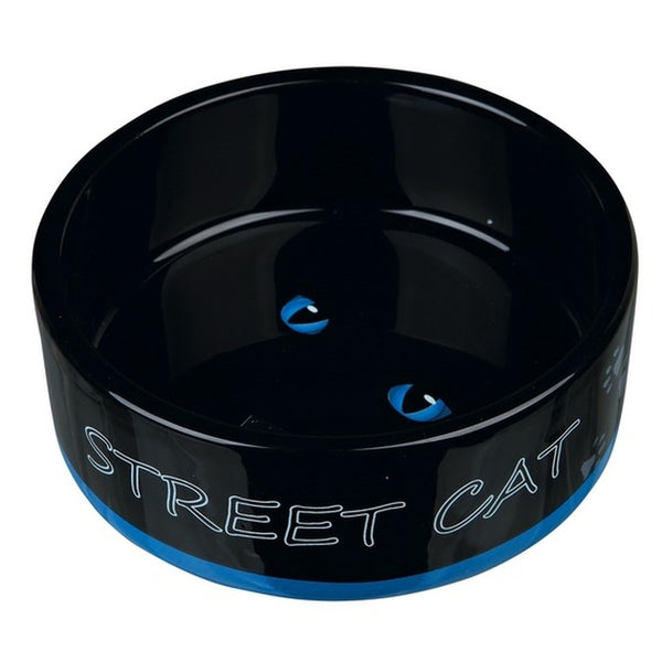 Trixie Street Cat Ceramic Bowl - 12cm