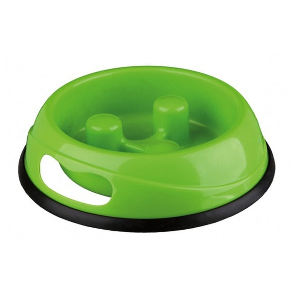 Trixie Slow Feed Plastic Bowl - 20cm