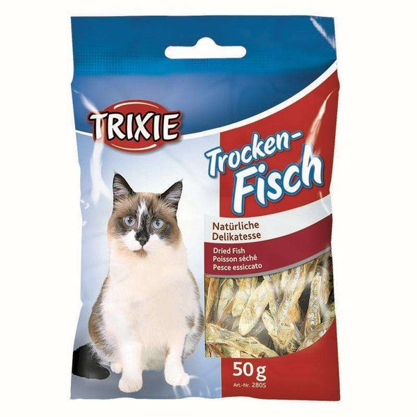 Trixie Dried Fish Snack For Cats- 50g