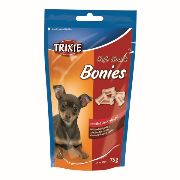 Trixie Soft Snack Bonies Beef and Chicken - 75 g