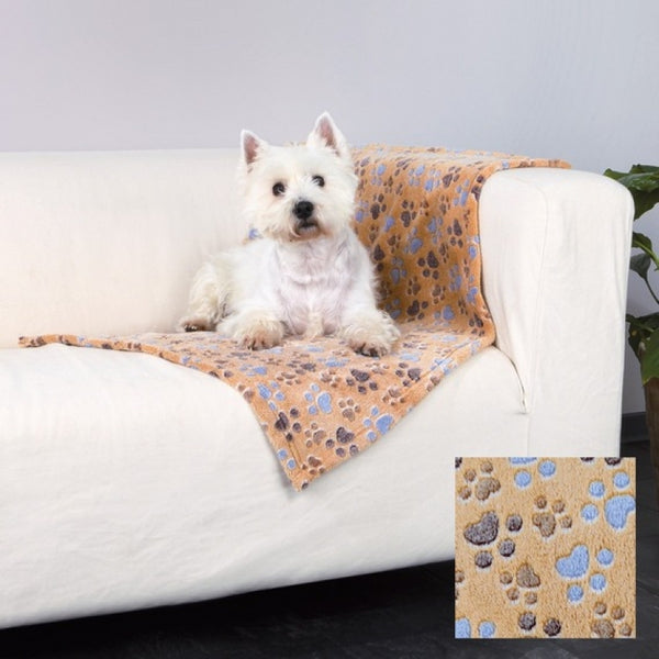 Trixie Laslo Fleece Blanket 100 x 70 cm Beige