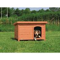 Trixie Natura Flat Roof Dog Kennel Medium 85x58x60cm