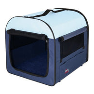 Trixie Mobile Kennel M-L 70x75x95cm Blue/Light Blue