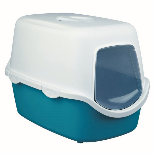 Trixie Vico Litter Tray for Cats 40x40x56cm Turquoise/White