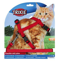 Trixie Cat Set of Harness and Lead for Large Cats Nylon (Big size)