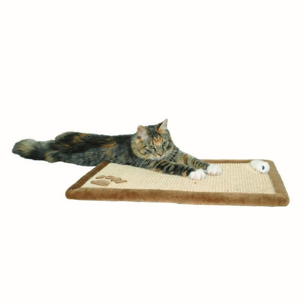 Trixie Cat Scratching Mat With Toy 55x35cm