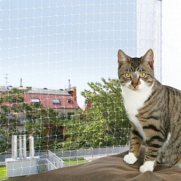 Trixie Protective Net For Cats - Transparent - 6 x 3m