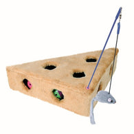 Trixie Cat's Cheese with Dangling Toy and 3 Play Balls 36 x 8 x 26 cm / 26 cm
