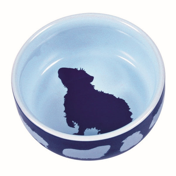 Trixie Ceramic Bowl with Guinea Pig Motif 250ml 11cm