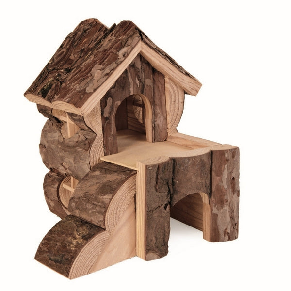 Trixie Bjork Log Cabin House for Hamsters 15×15×16cm
