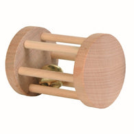 Trixie Small Animals Roller Toy Made of Wood 5×7cm