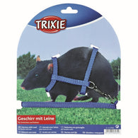 Trixie Nylon Harness with Leash for Ferrets/Rats 12 - 25 cm x 8 mm