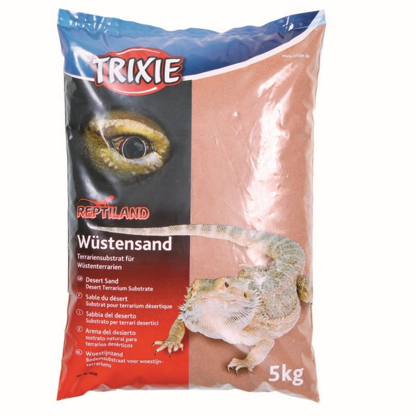 Trixie Reptiland Desert Sand for Terrariums, 5 Kg Red