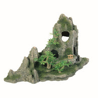 Trixie Rock Formation with Caves / Plants Aquarium Decoration 27 cm