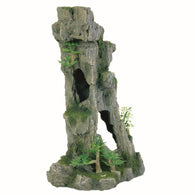 Trixie Aquarium Decoration Rock Formation with Caves / Plants Upright 28 cm