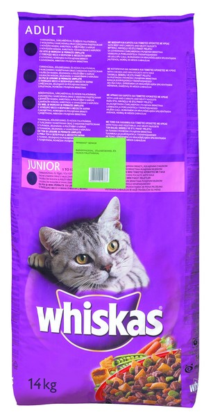 Whiskas Adult Dry Lamb 14kg