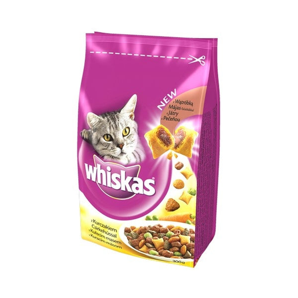 Whiskas Adult Dry Chicken 300g