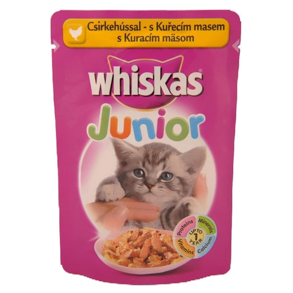 Whiskas Junior Chicken - Pouch 100g