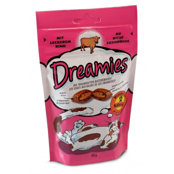 Dreamies Beef Cat Treats - 60 g