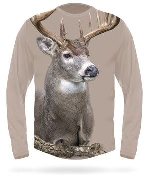 Long sleeve White-tailed deer