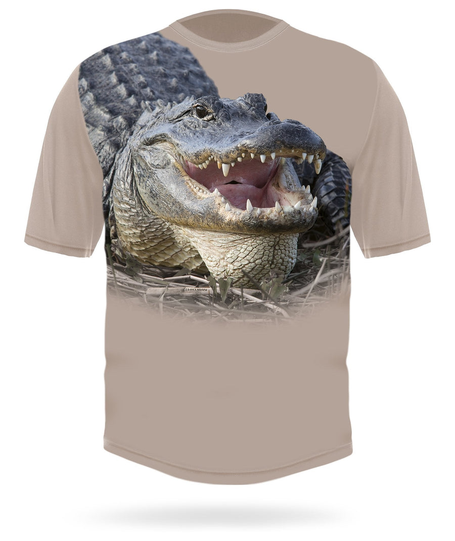 Alligator shirt by HILLMAN
