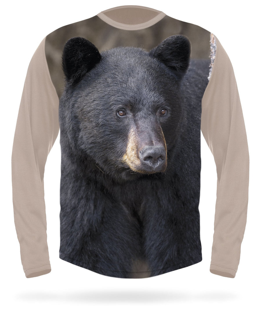 Black bear long sleeve t-shirt - HILLMAN hunting gear