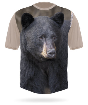 BLACK BEAR Short sleeve T-shirt - HILLMAN hunting gear
