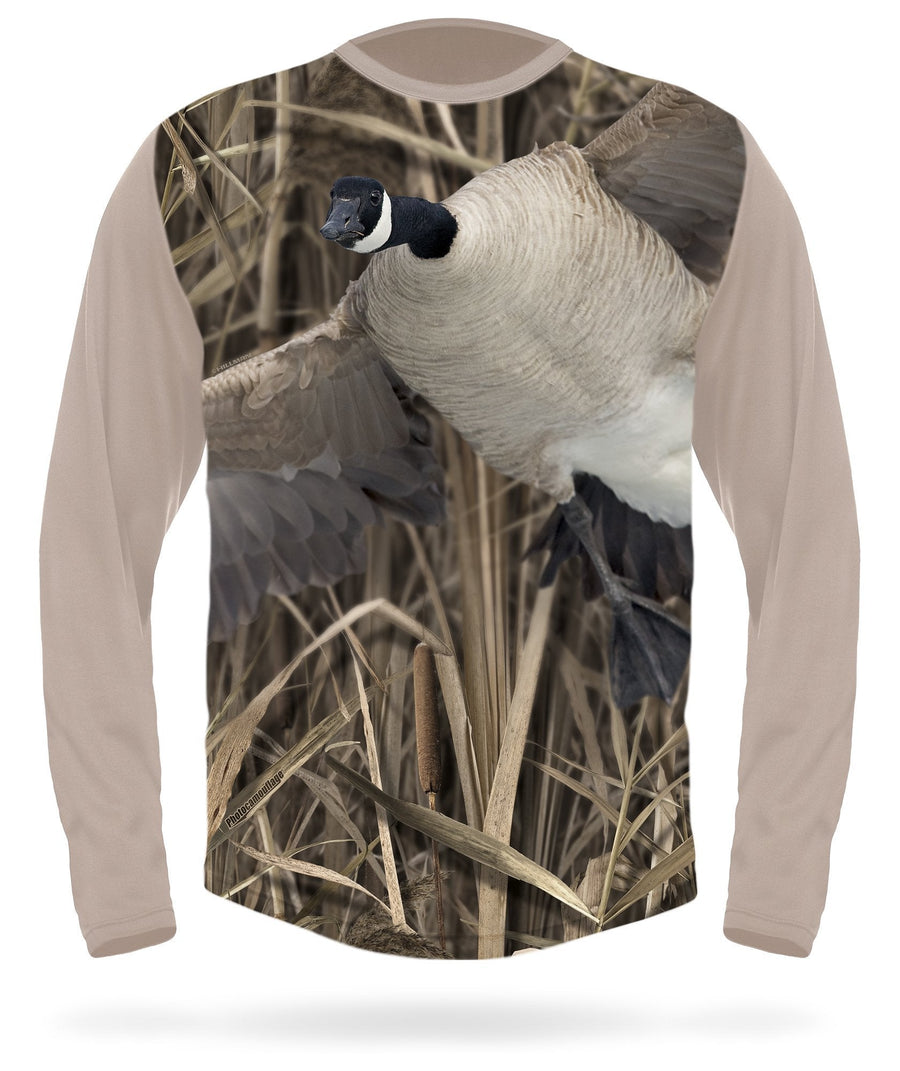 Canada Goose T-shirt Landing Long sleeve - HILLMAN® hunting gear
