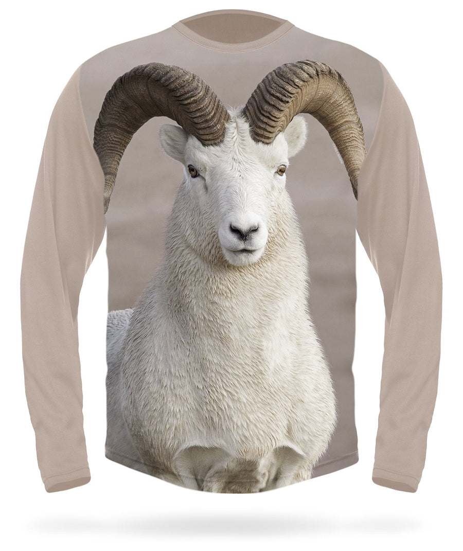 Hillman - Dall sheep long sleeve hunting t-shirt