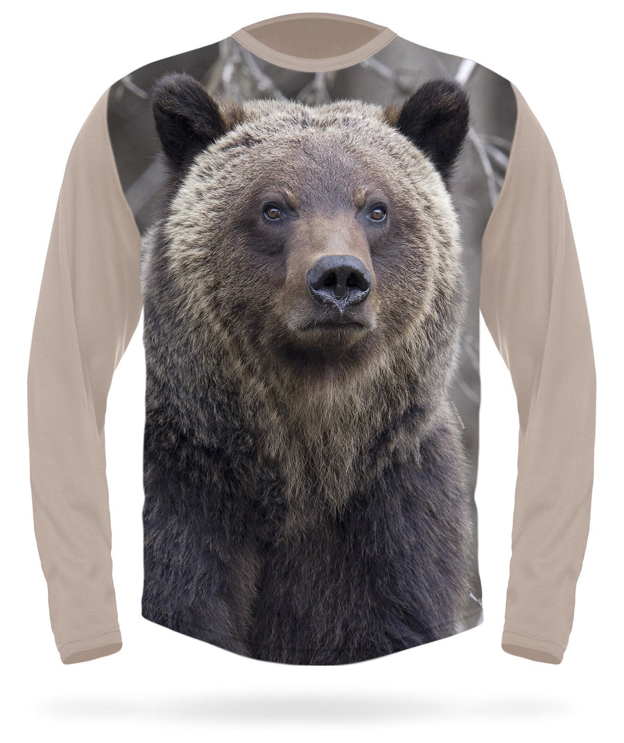 Hillman - Grizzly long sleeve hunting t-shirt