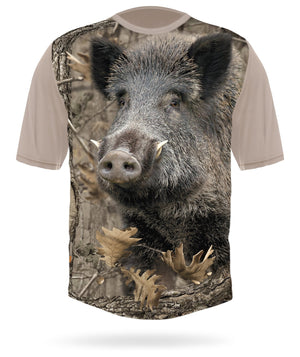 Wild Hog Shirt Short Sleeve camo by HILLMAN®