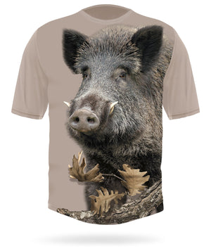 Wild Hog T-shirt Short Sleeve - HILLMAN® hunting gear