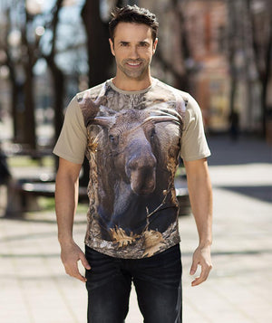 Man with Moose shirt
