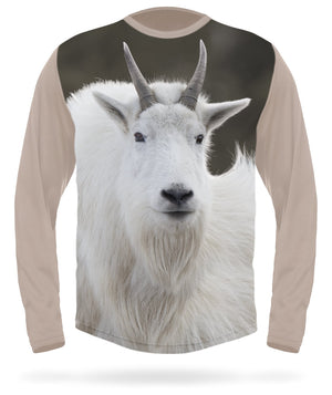 Mountain goat t-shirt long sleeve -  HILLMAN® hunting gear