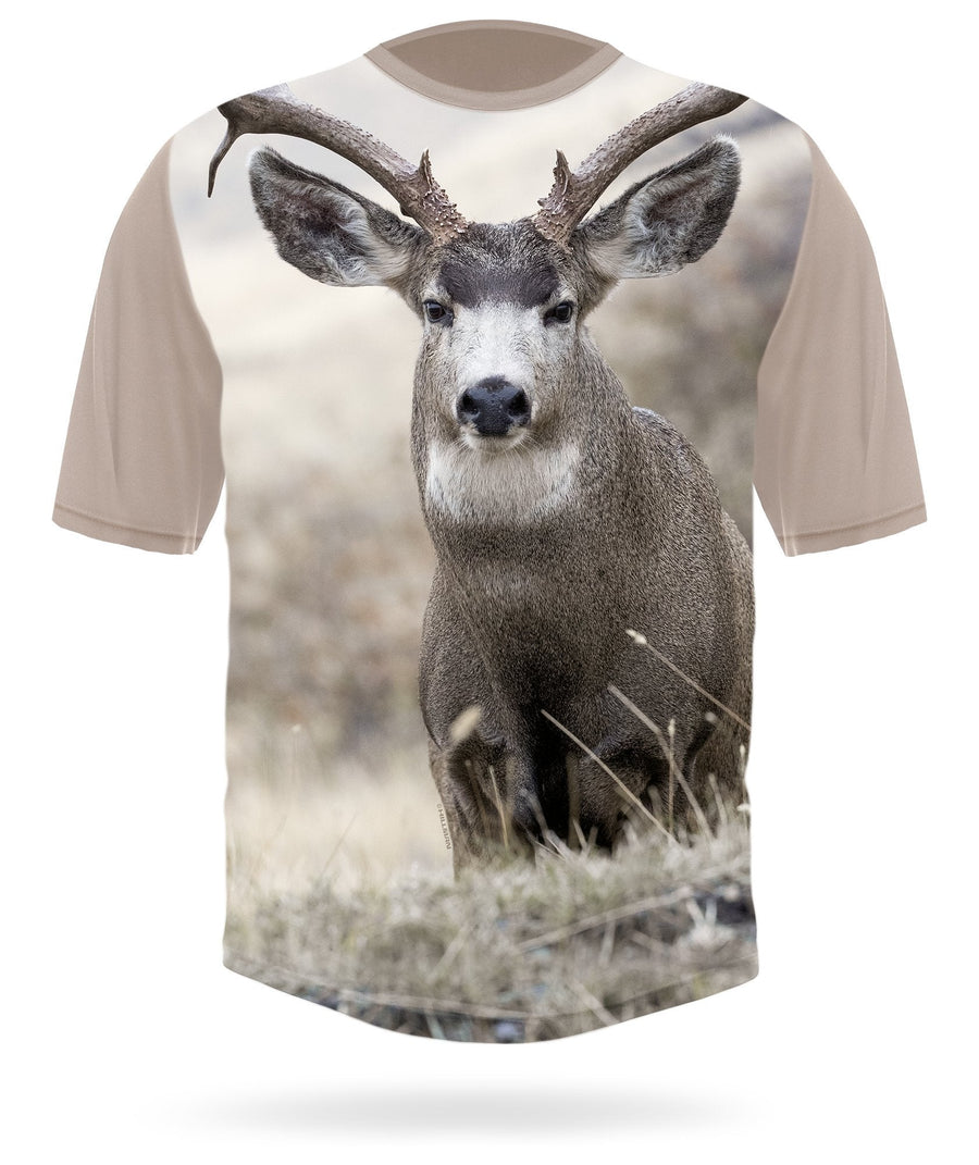 Hillman - Mule deer field short sleeve hunting t-shirt