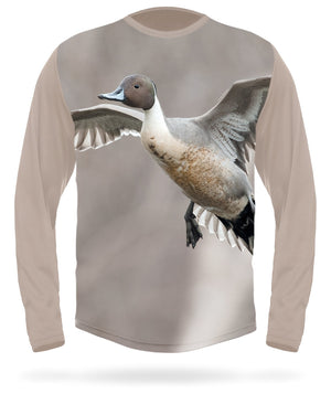 Hillman - Northern pintail long sleeve hunting t-shirt