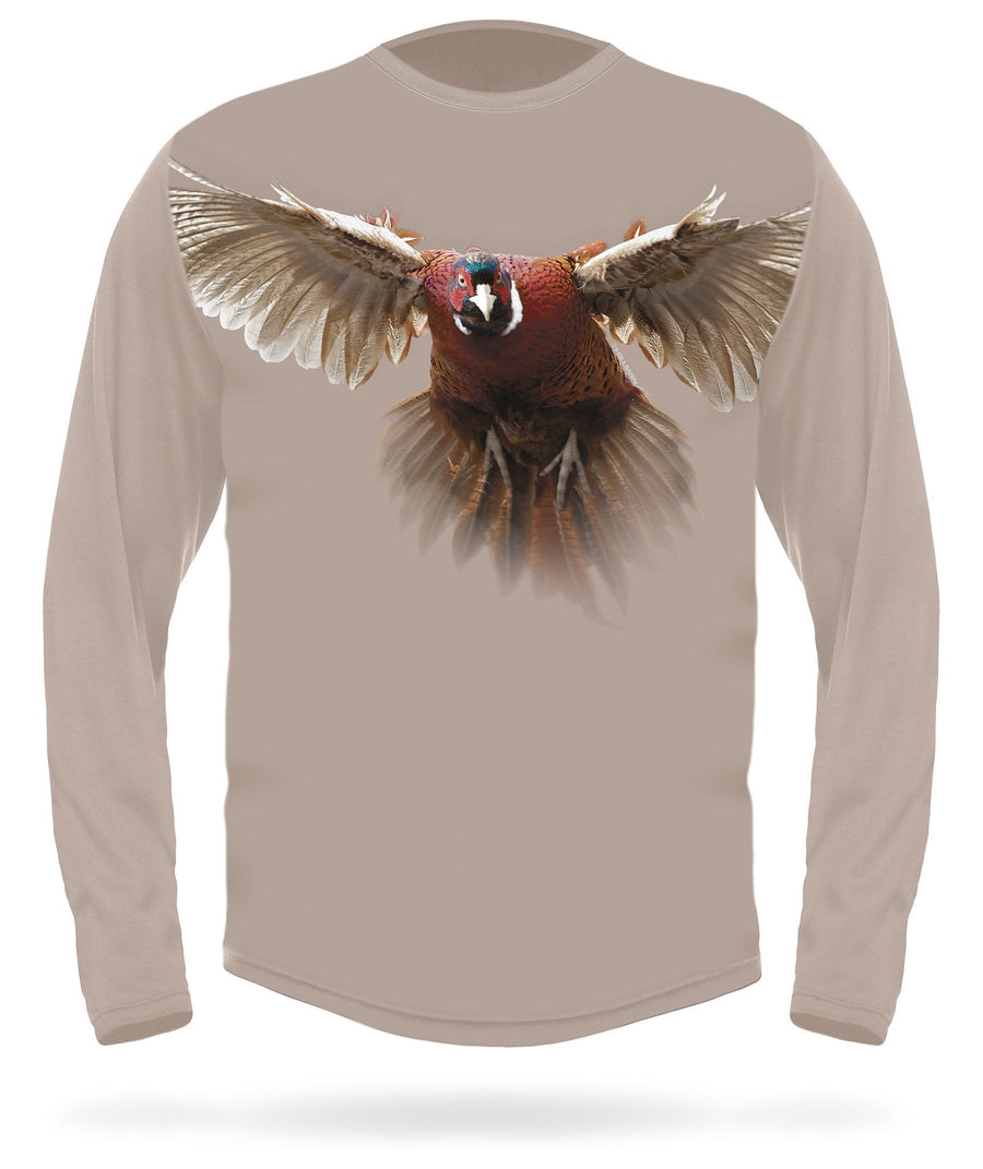 Hillman - Pheasant long sleeve hunting t-shirt