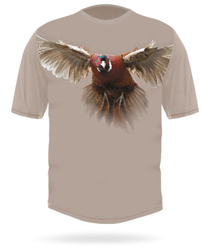 Pheasant t-shirt short sleeve - HILLMAN® hunting gear