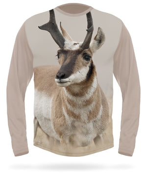 Pronghorn t-shirt field long sleeve- HILLMAN® hunting gear