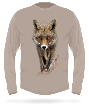 Hillman - Red fox long sleeve hunting t-shirt